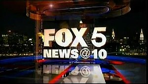 WNYW - Fox 5 News at 10:00 p.m. news open, used since November 2012.