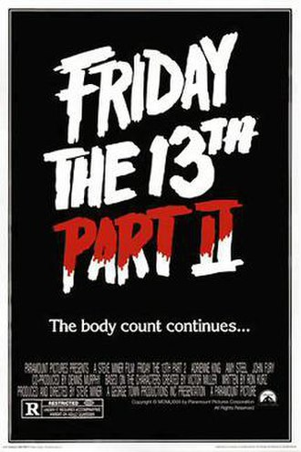 Friday the 13th Part 2 - Theatrical release poster