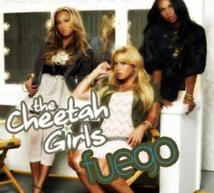 Fuego (The Cheetah Girls song) - Image: Fuegosinglecover