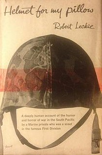 <i>Helmet for My Pillow</i> book by Robert Leckie