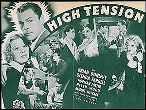 High Tension (1936 film) - Movie poster