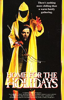 <i>Home for the Holidays</i> (1972 film) 1972 television slasher film from the United States directed by John Llewellyn Moxey