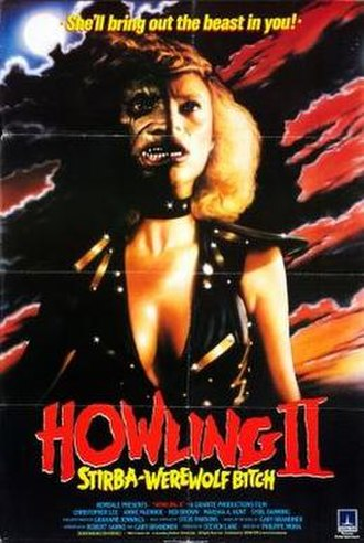 Howling II: Your Sister Is a Werewolf - Original theatrical poster
