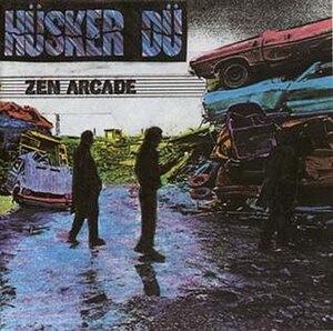 Zen Arcade - Image: Husker Du Zen Arcade