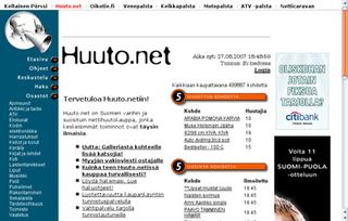 Huuto.net Finnish customer to customer online auction