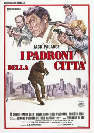 Mister Scarface - Italian film poster