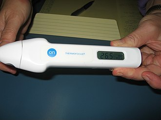 Infrared thermometer - Image: IR Thermometer 1