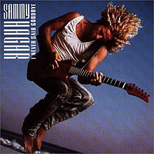 I Never Said Goodbye (Sammy Hagar album - cover art).jpg