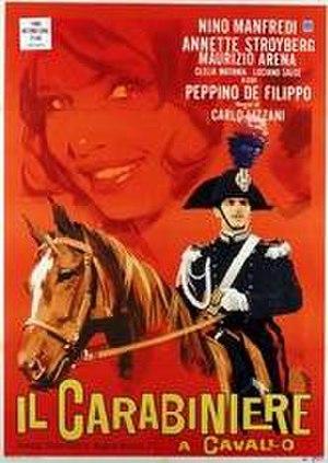 Il carabiniere a cavallo - Image: Il carabiniere a cavallo