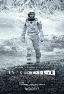 2014 British-American science fiction film directed by Christopher Nolan