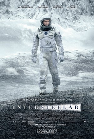 Interstellar (film) - Theatrical release poster