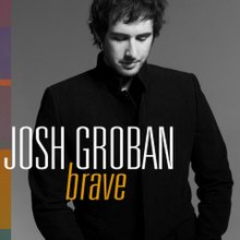 "Josh Groban ""Brave"" cover art"