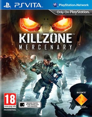 Killzone: Mercenary - European Cover Art