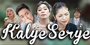 Eat Bulaga! - Logo for Kalyeserye including some of the cast