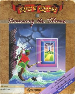 King's Quest II - Amiga cover art