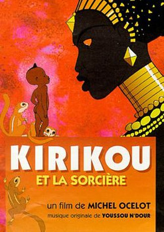 Kirikou and the Sorceress - Original French film poster