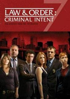 <i>Law & Order: Criminal Intent</i> (season 7) Season of television series