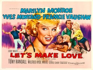 Let's Make Love - Original film poster by Tom Chantrell