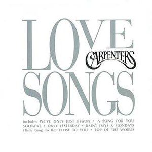 Love Songs (The Carpenters album) - Image: Love Songs (The Carpenters album) coverart