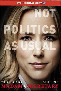 <i>Madam Secretary</i> (season 1) Season of television series