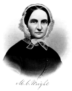 Martha Coffin Wright American activist