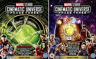Marvel Cinematic Universe: Phase Three Series of films set in the Marvel Cinematic Universe