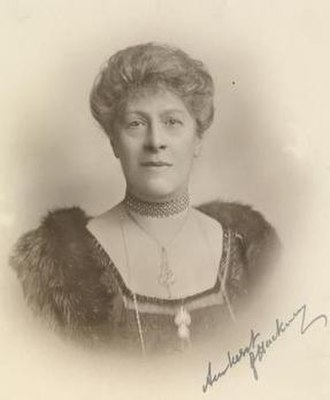 Mary Cecil, 2nd Baroness Amherst of Hackney - 1919 upon receipt of her OBE