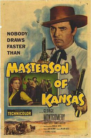 Masterson of Kansas - Theatrical release poster