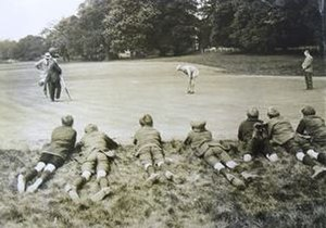 McVitie & Price Tournament - Image: Mc Vitie and Price Tournament Oxhey Golf Club 1921