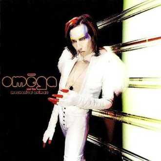 Mechanical Animals - Alternate cover for the fictitious band Omēga and the Mechanical Animals