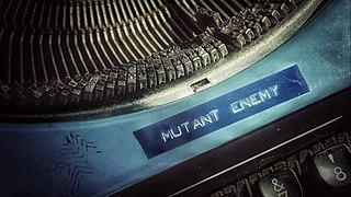 Mutant Enemy Productions Television production company
