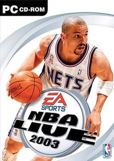 <i>NBA Live 2003</i> 2002 basketball video game