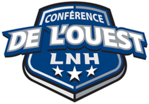 Western Conference (NHL) - French version of the Western Conference logo