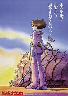 <i>Nausicaä of the Valley of the Wind</i> (film) 1984 film by Hayao Miyazaki