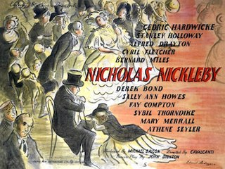 <i>The Life and Adventures of Nicholas Nickleby</i> (1947 film) 1947 film by Alberto Cavalcanti