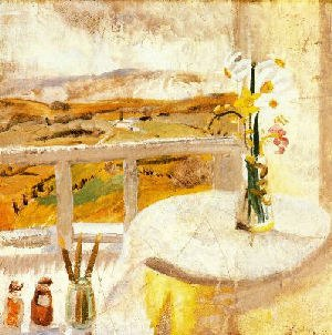 Winifred Nicholson - Image: Nicholson, From Bedroom Window, Bankshead