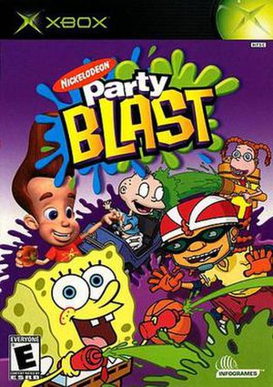 Nickelodeon Party Blast - Image: Nick Party Blast