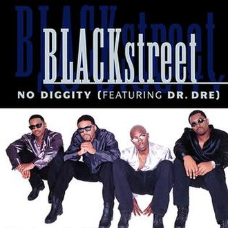 Blackstreet featuring Dr. Dre and Queen Pen - No Diggity (studio acapella)