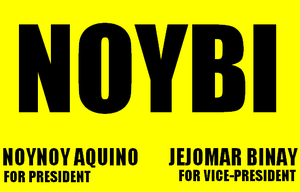 Aquino–Binay Campaign, 2010 - Image: Noybi