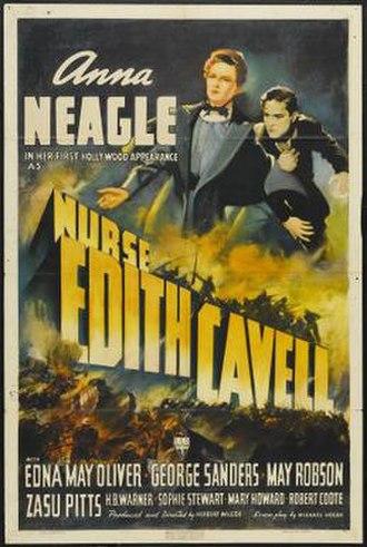 Nurse Edith Cavell - Image: Nurse Edith Cavell Film Poster