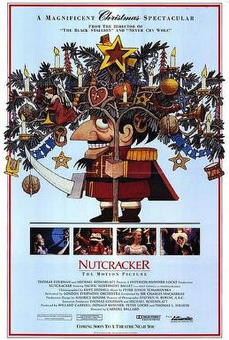 Nutcracker: The Motion Picture - Original theatrical release poster