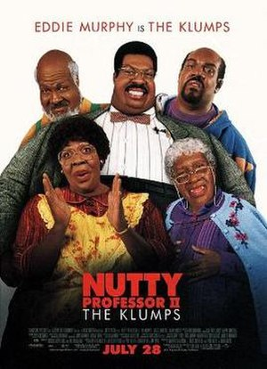 Nutty Professor II: The Klumps - Theatrical release poster