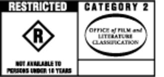 Australian Classification Board - Category 2 Restricted