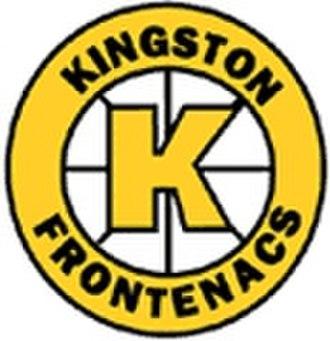 Kingston Frontenacs - Image: Old frontenacs logo