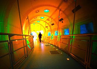 Dynamic Earth (Edinburgh) - Undersea Tunnel at Dynamic Earth