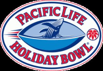 2007 Holiday Bowl - Holiday Bowl logo