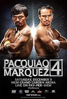Manny Pacquiao vs. Juan Manuel Márquez IV Boxing competition