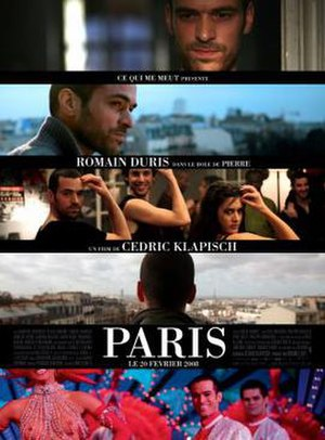 Paris (2008 film) - Film poster