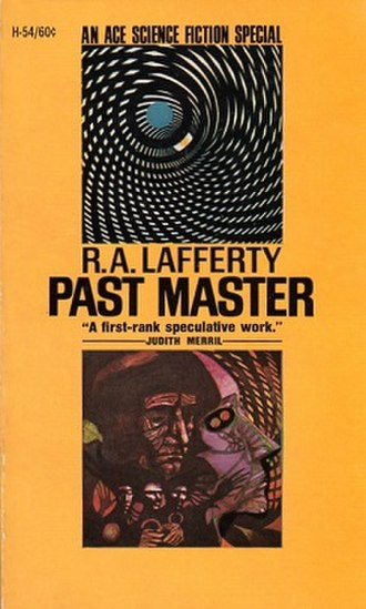 Past Master (novel) - Cover of first edition paperback