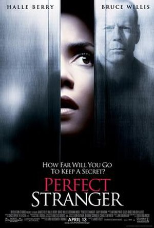 Perfect Stranger (film) - Theatrical release poster